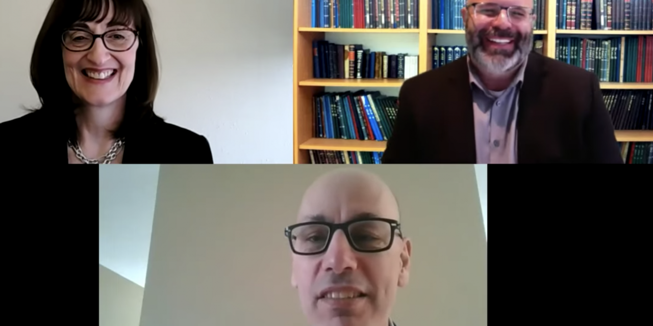 Married Vancouver physicians offer some COVID-19 positives in upbeat virtual chat with Rabbi