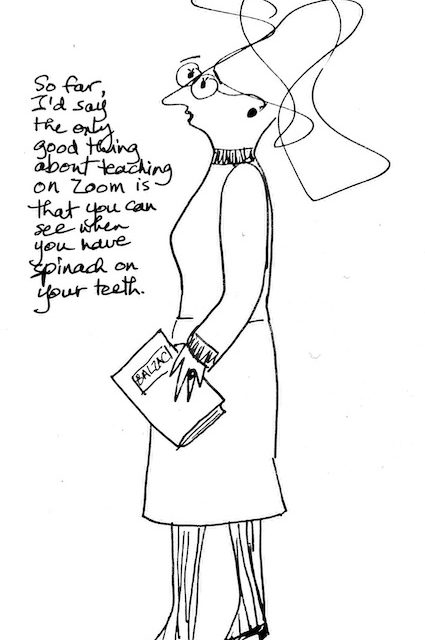 Vancouver professor shares her COVID-19 doodle cartoons