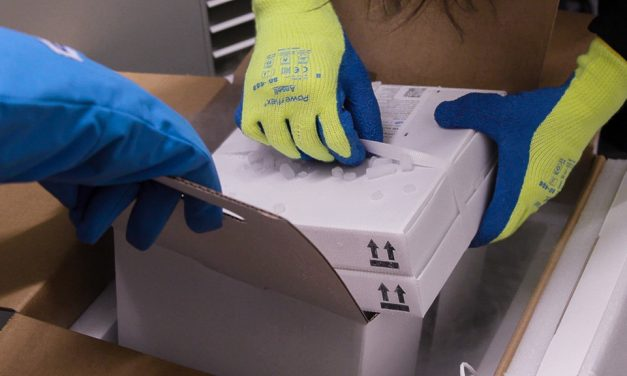 The moment when frozen COVID-19 vaccines were unpacked – photos & videos document historic event