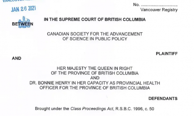 Lawsuit against Dr. Henry and B.C. government seeks to overturn COVID-19 public health orders